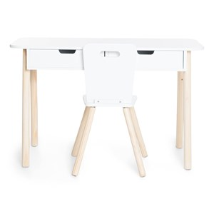 Image of JOX Desk and Chair White (3056058513)