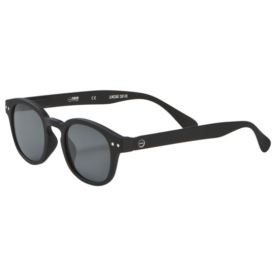 IZIPIZI SUN Junior #C Sunglasses Black Black