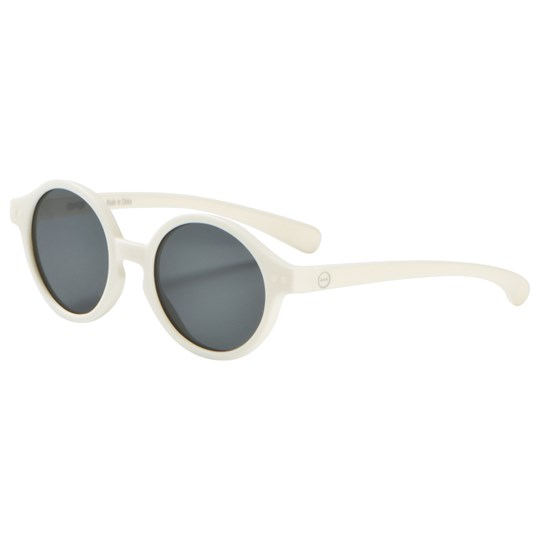 IZIPIZI SUN Kids Sunglasses Limited Edition White Clay White Clay