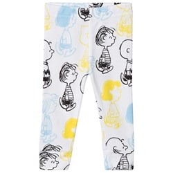 Tobias & The Bear White Peanut Leggings