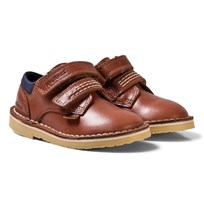 Kickers Adlar Twin Lo Shoes Tan Tan Leather