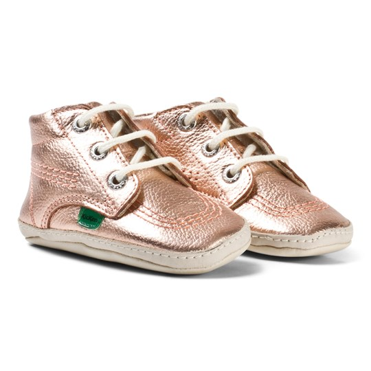 Kickers Kick Hi Baby Pre-Walkers Rose Gold Rose Gold