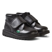Kickers Kick Kilo Strap Classic School Shoes Black Black