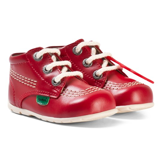 Kickers Kick Hi B Baby Shoes Red Red