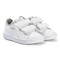 Puma Smash V2 Infant Sneakers White Puma White-puma White