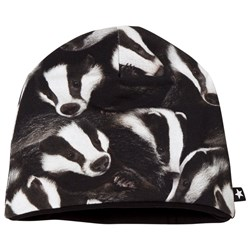 Molo Ned Baby Hat Badgers