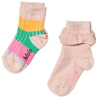 Molo 2-Pack Nue Socks Dawn Dawn