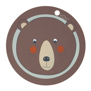 Image of OYOY Placemat - Bear (3065505901)