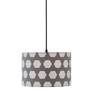 Kids Concept Hexagon Ceiling Lamp Grey One Size
