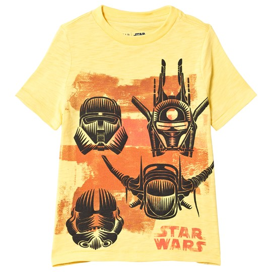 GAP Lemon Peel Star Wars T-Shirt LEMON PEEL