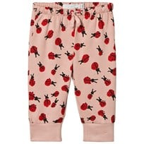 Stella McCartney Kids Light Pink Ladybugs Print Tootie Sweatpants 5961