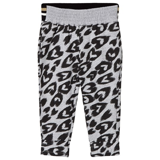 Stella McCartney Kids Grey Hearts Niamh Pants 1267