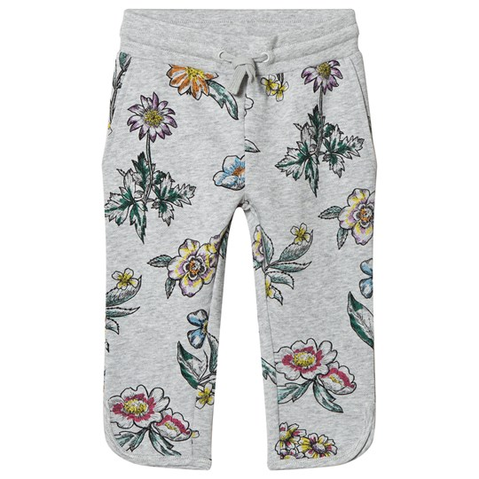Stella McCartney Kids Grey Flower Print Emilie Pants 1266