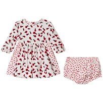 Stella McCartney Kids Pink Ladybugs Fleur Dress 9083