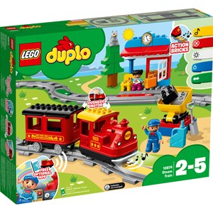 Image of LEGO DUPLO 10874 LEGO® DUPLO® Steam Train (3150375643)