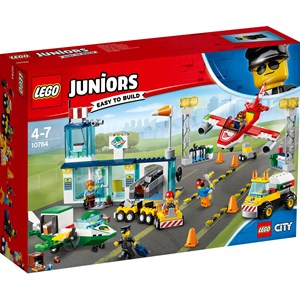 Image of LEGO Juniors 10764 LEGO® Juniors City Central Airport (3150375647)