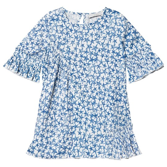 Stella McCartney Kids Blue Viola Tencel Dress 9084