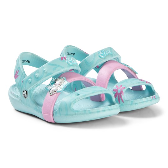 Crocs Keeley Frozen Fever Sandal K IBlu Blue