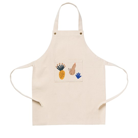 ferm LIVING Kids Apron - Fruiticana 白色