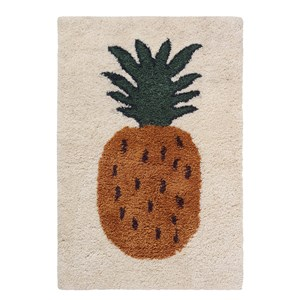 Image of ferm LIVING Fruiticana Tufted Pineapple Rug - Small One Size (1108381)