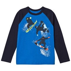 GAP Long Sleeved T-Shirt Radiant Blue