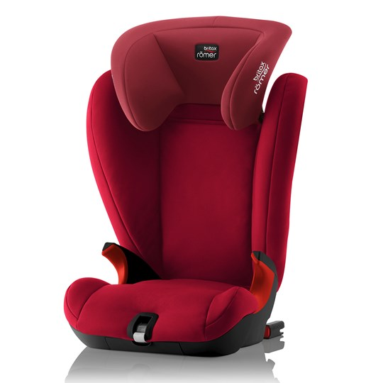 Britax Kidfix SL BR Black Series Flame Red Flame Red