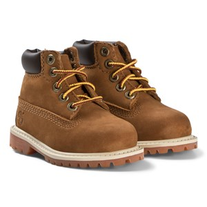 Image of Timberland 6-Inch Premium Nubuck Boots Brown 20 EU (2839675657)