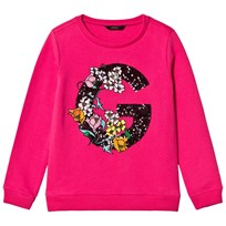 Guess Pink Sequin Sweatshirt RARO
