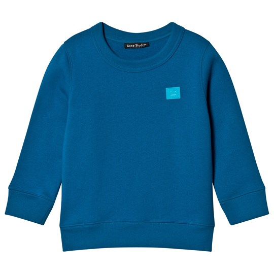 Acne Studios Mini Sweater Fair View Teal Blue TEAL BLUE