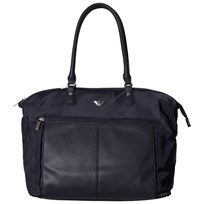 Armani Junior Navy Leather Changing Bag 06935