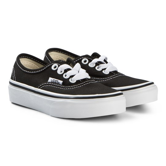 Vans Black and True White UY Authentic Shoes Black/True White