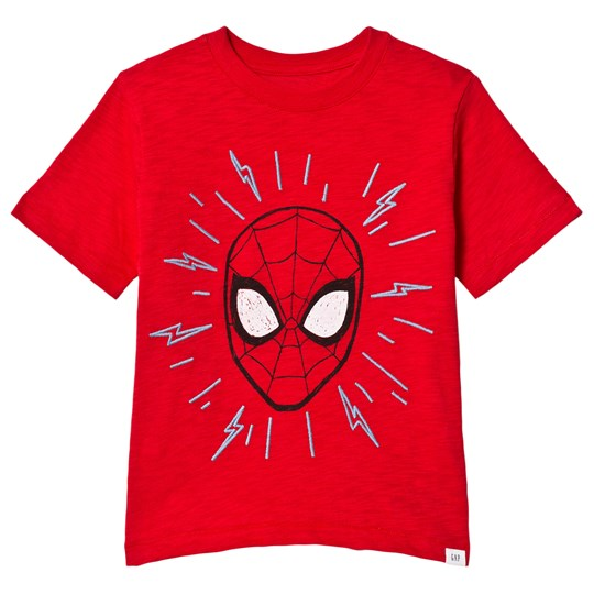 GAP Spiderman T-Shirt Pure Red PURE RED V2