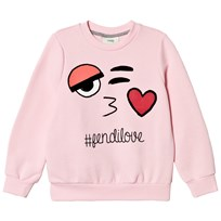 Fendi Pale Pink Love Sweatshirt F05Y6