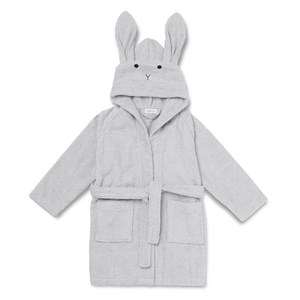 Image of Liewood Lily Bathrobe Rabbit Dumbo Grey 1-2 år (3032136541)