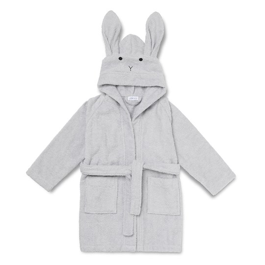 Liewood Lily Bathrobe Rabbit Dumbo Grey 0032 Rabbit dumbo grey