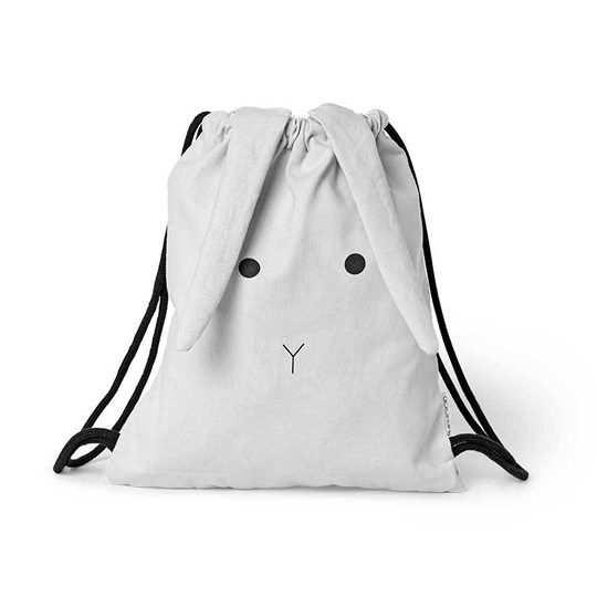 Liewood Gert Gym Bag Rabbit Dumbo Grey 0032 Rabbit dumbo grey