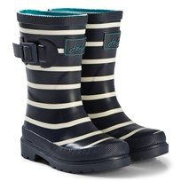 Tom Joule Navy Stripe Wellington Boots FRENCH NAVY STRIPE