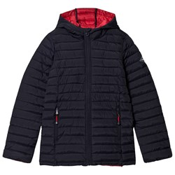 Joules Navy Cairn Padded Pack Away Coat