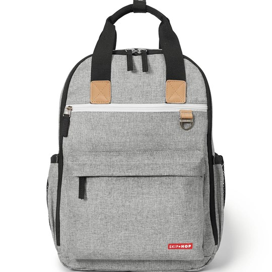 Skip Hop Рюкзак Duo Diaper Backpack Grey Melange Grey Melange
