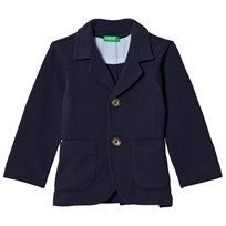 United Colors of Benetton Pique Jacket Navy Navy