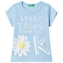 United Colors of Benetton Powder Blue T-Shirt POWDER BLUE