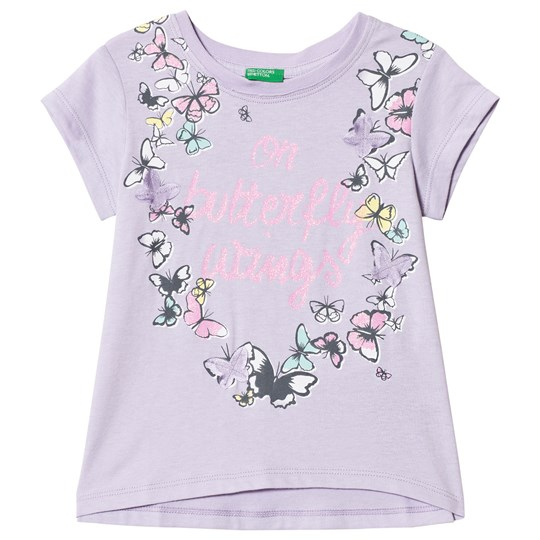 United Colors of Benetton Lilac T-Shirt Lilac