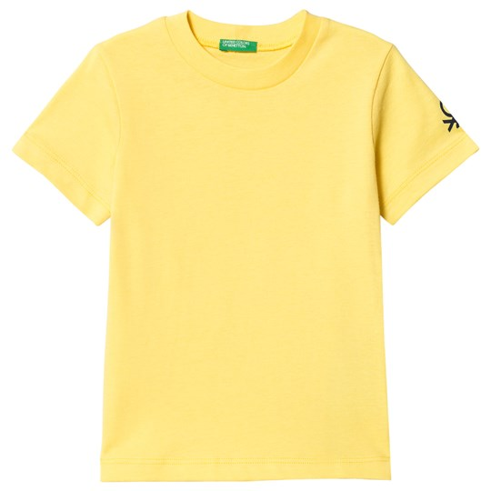 United Colors of Benetton Yellow T-Shirt Yellow