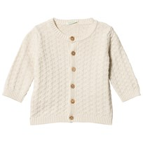 United Colors of Benetton Long Sleeve Cardigan Beige Beige