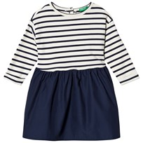 United Colors of Benetton Dress Stripe Navy Navy