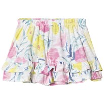 United Colors of Benetton Skirt White Floral White