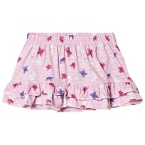 United Colors of Benetton Skirt Pink Floral Pink