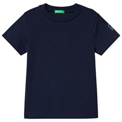 United Colors of Benetton T-shirt in Navy