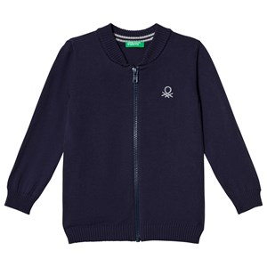 Image of United Colors of Benetton L/S Sweater in Navy M (7-8 år) (3034317725)