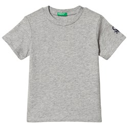 United Colors of Benetton T-shirt in Grey Melange